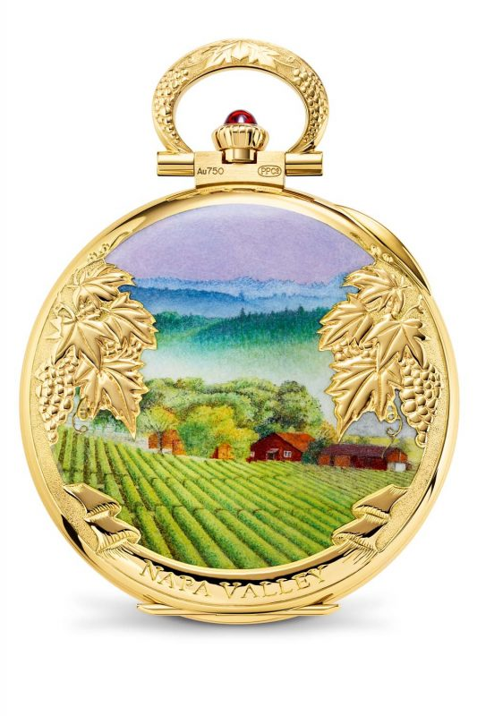 "Patek Philippe, 992/116J_001, ""Napa Valley"", Montre de poche"