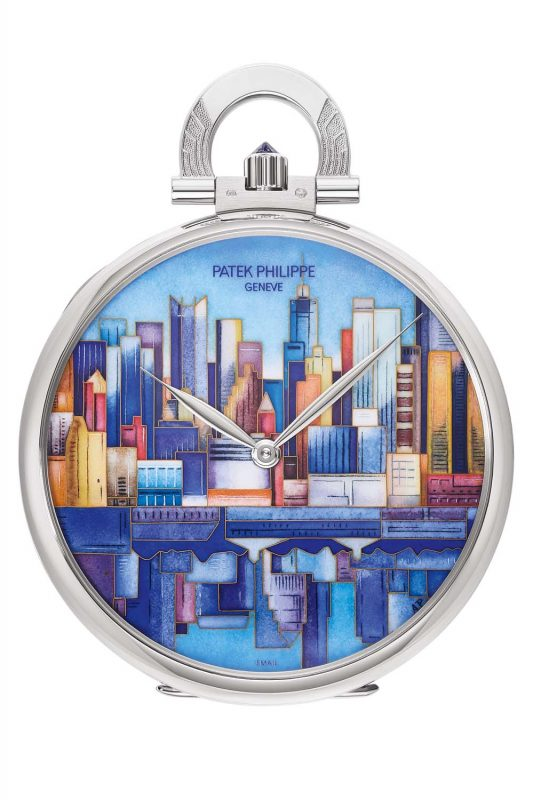 "Patek Philippe, 993/101G ""Manhattan-Brooklyn"""