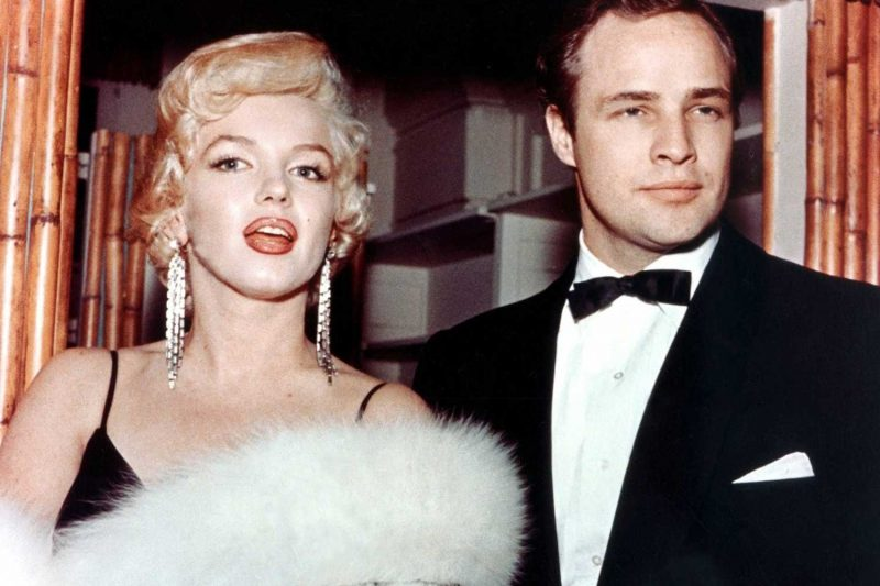 Marilyn Monroe with Marlon Brando