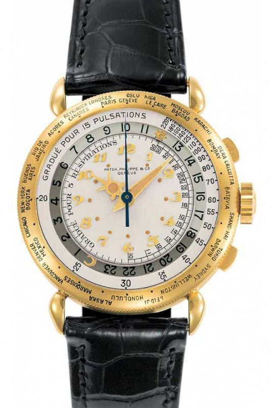 Patek Philippe World Time Chronograph ref 1415