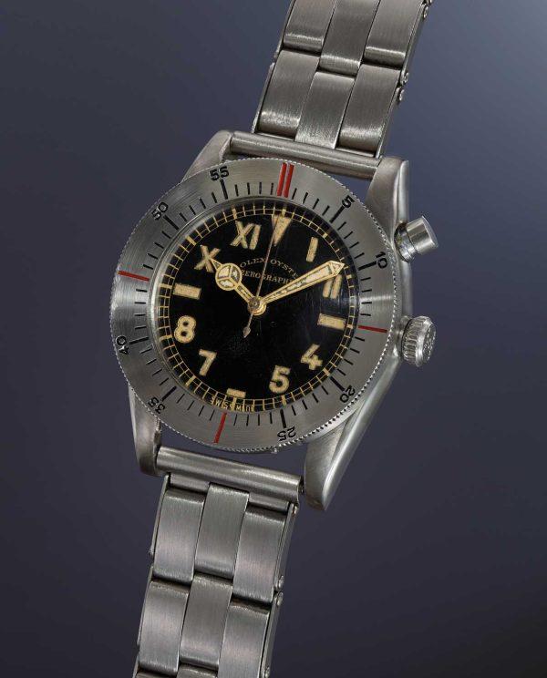 The Rolex Zerographe ref. 3346 (Image: phillips.com)