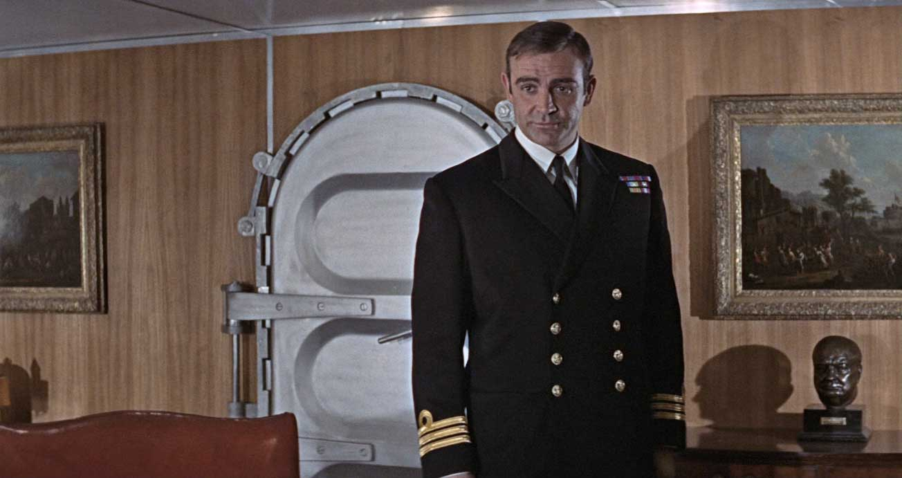 Sean Connery as Bond in the 1967 film, You Only Live Twice.