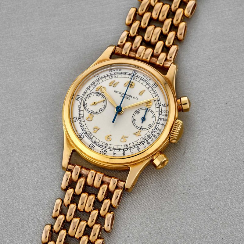 Patek Philippe 18k gold ref. 1463J, manufactured in 1946 and sold in 1947