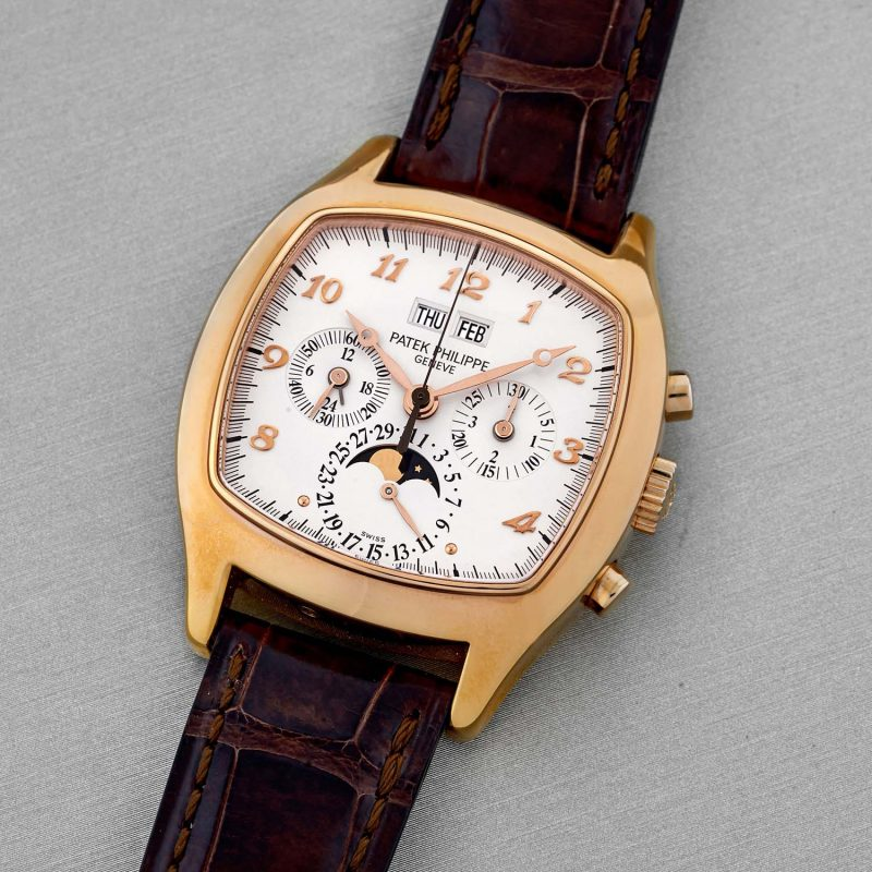 Patek Philippe 18k rose gold ref. 5020R, manufactured in 1995