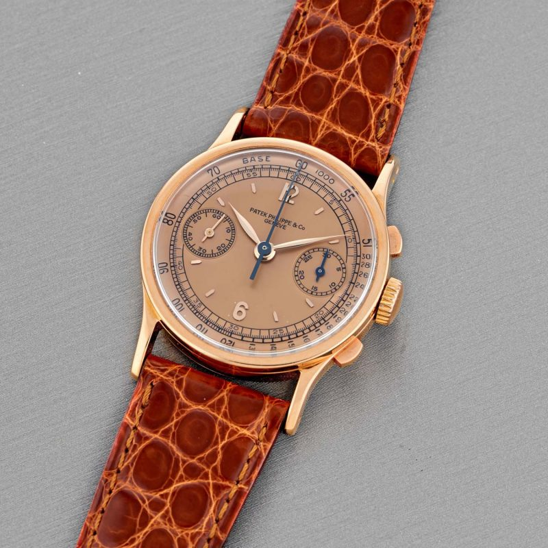 Patek Philippe 18k rose gold ref. 533R, manufactured in 1942 and sold in 1943