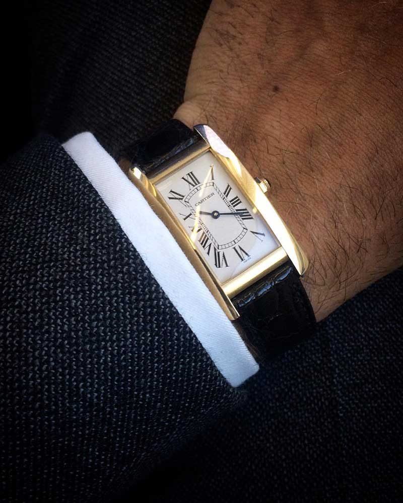 The Cartier Tank Américaine
