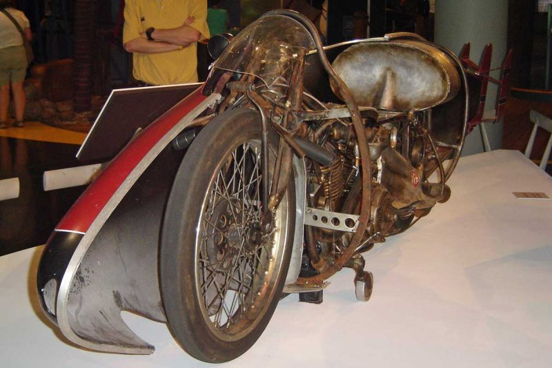 1920 Indian motorcycle used by Burt Munro