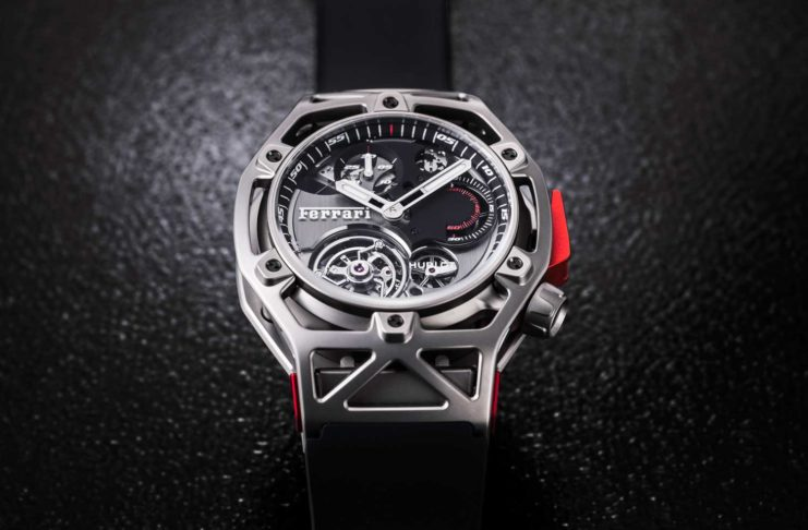 Techframe Ferrari 70 Years Tourbillon Chronograph