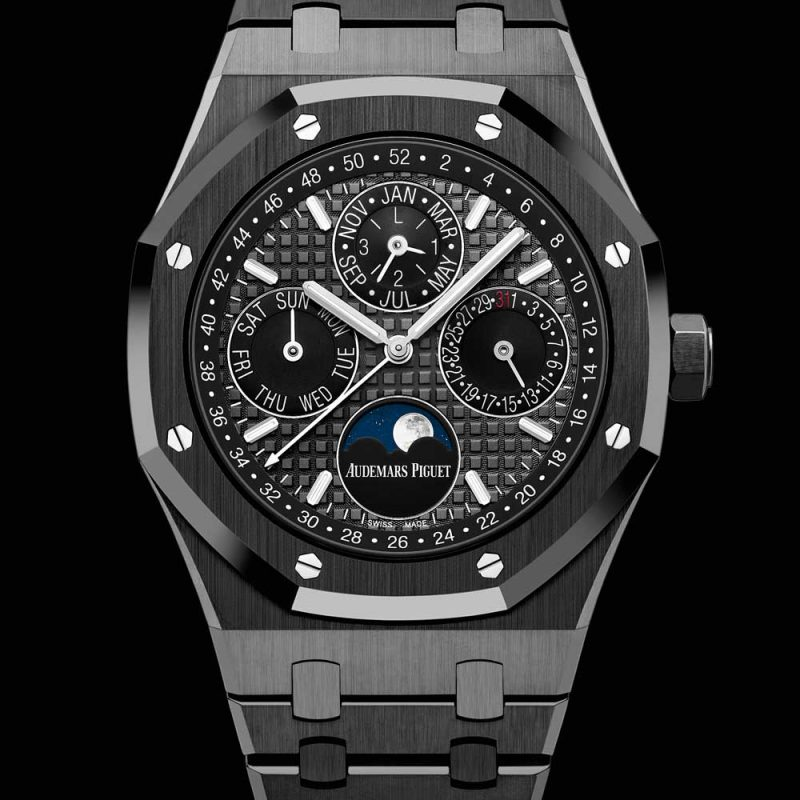 Royal Oak Perpetual Calendar Black Ceramic