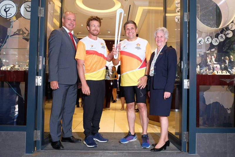 Longines Queens Baton Relay
