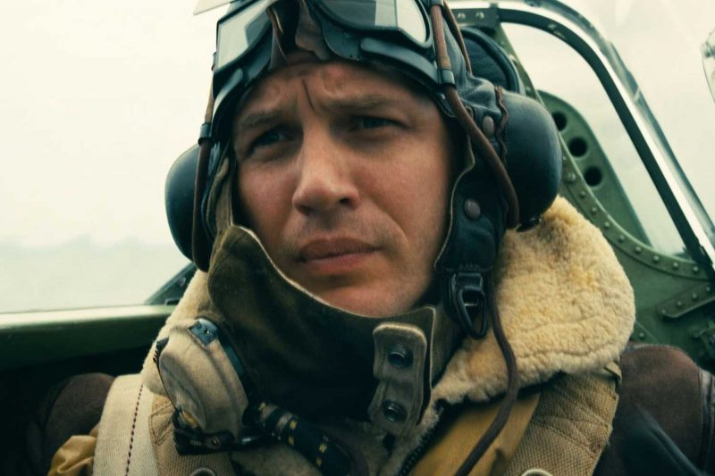 Tom Hardy as Farrier in the movie Dunkirk