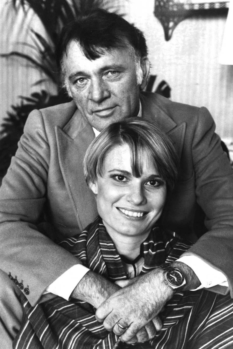 Richard Burton and Suzy Miller