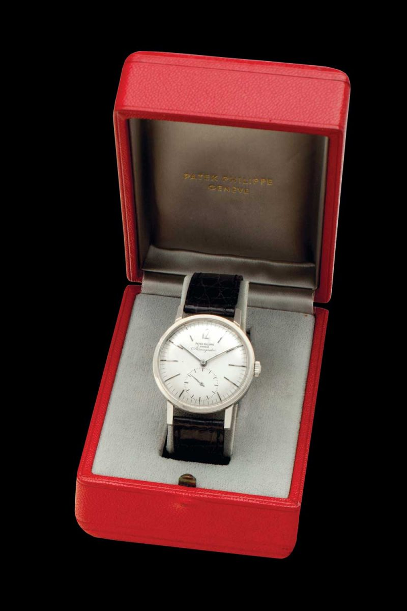 Patek Philippe stainless-steel, antimagnetic wristwatch with original certificate and box, ref. 3417