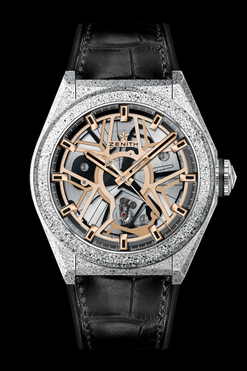 Zenith Defy Lab Black Full Rose Gold