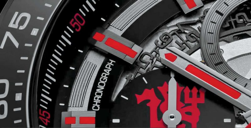 TAG Heuer-Manchester United Carrera Heuer-01 Chrono Red Devil Limited Edition