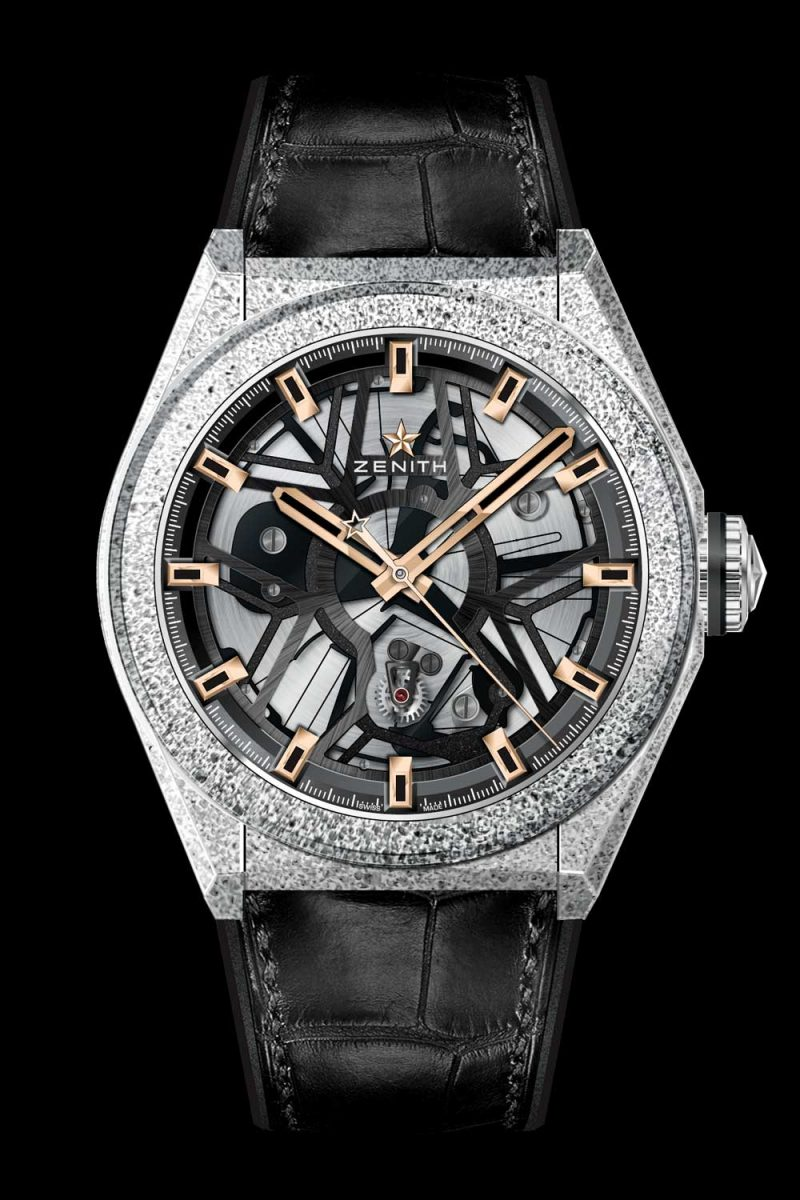 Zenith Defy Lab Black Rose Gold