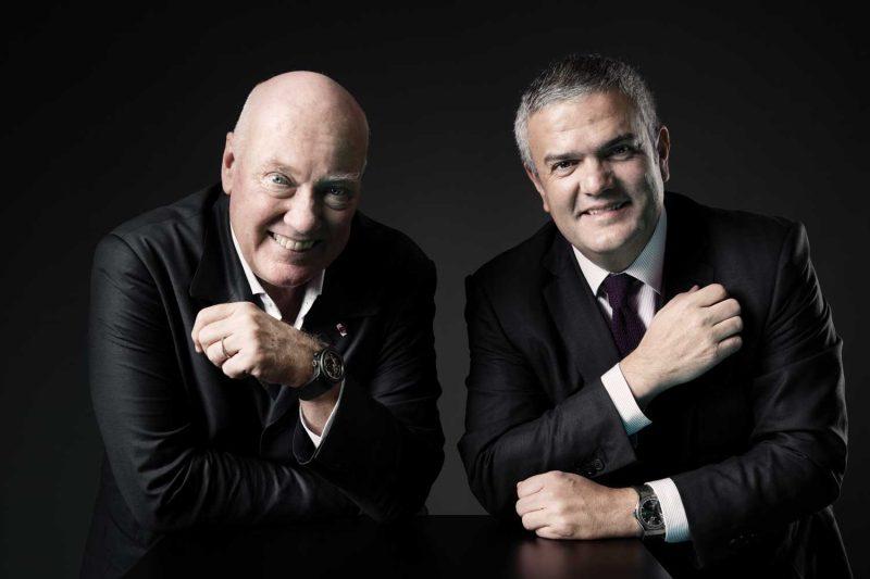 Jean-Claude Biver and Riccardo Guadalupe (Image: sandrobaebler.com)