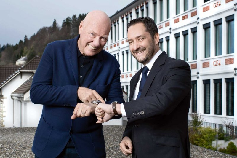 Jean-Claude Biver and Julien Tornare