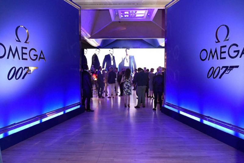 Omega's 007 event in London at the Tate Britain