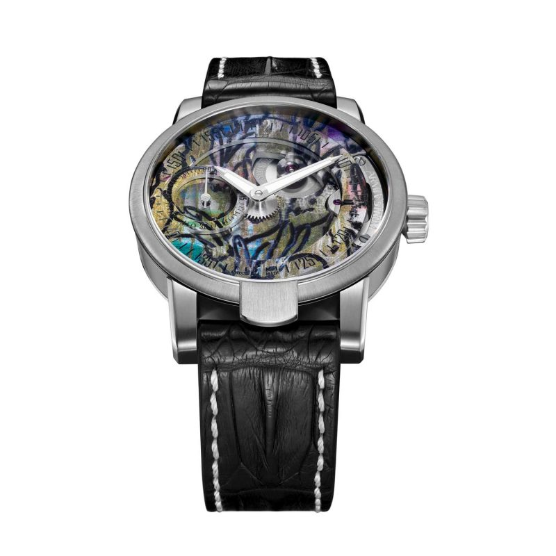 Armin Strom Manual Hunt Slonem Edition for Only Watch 2017; estimate: US$11,000 - 20,000