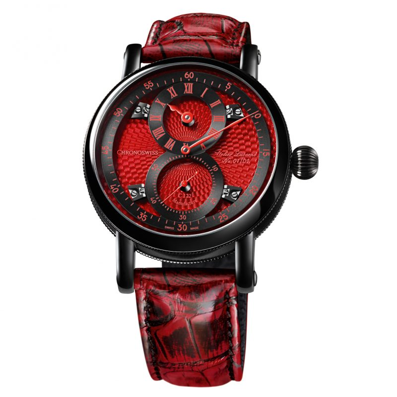 Chronoswiss Flying Regulator Red Passion Only Watch 2017; estimate: US$10,000 - 17,000