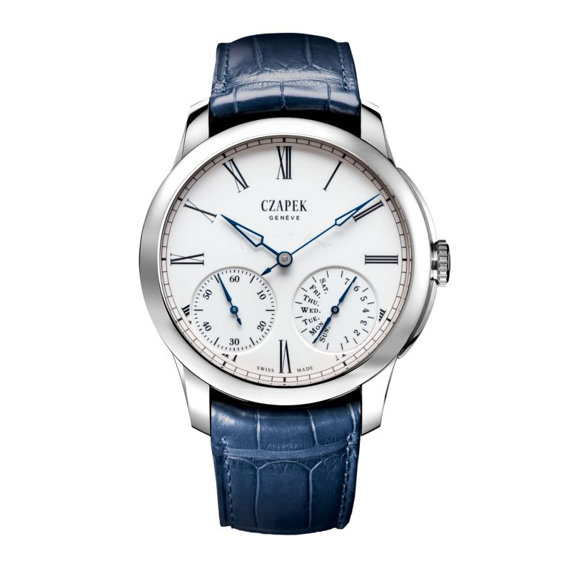 Czapek Quai des Bergues N°25ter — Courage Every Second Only Watch 2017; estimate: US$12,500 – 21,000
