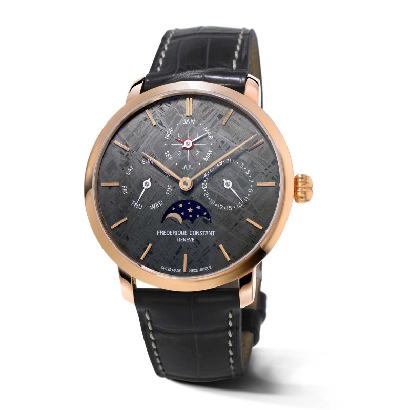 Frédérique Constant Manufacture Perpetual Calendar Only Watch 2017; estimate: US$18,000 - 28,000