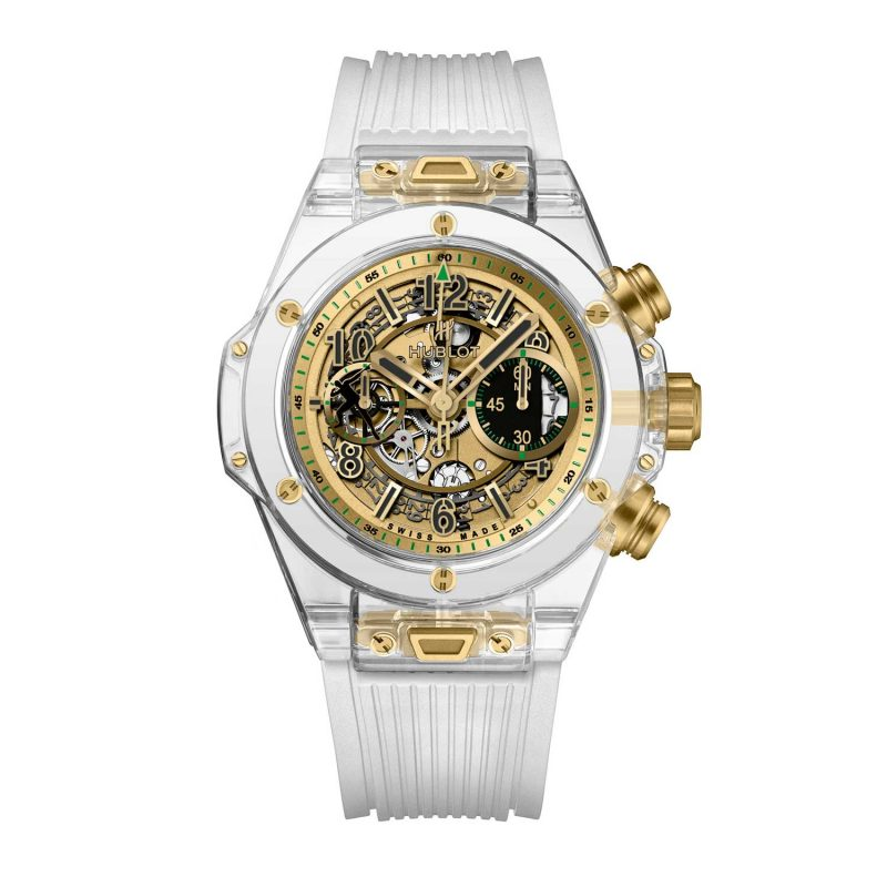 Hublot Big Bang Unico Sapphire Usain Bolt for Only Watch 2017; estimate: US$52,000 - 83,000