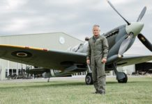 Bremont ambassador and Director of the Aircraft Restoration Company at Duxford Airfield, John Romain
