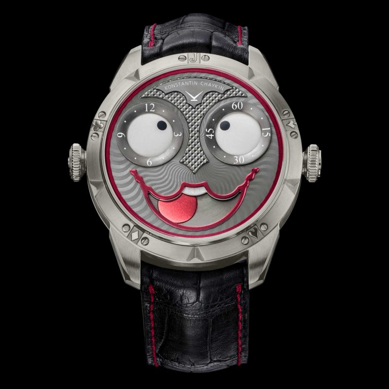 Konstantin Chaykin Joker Only Watch 2017; estimate: US$11,000 - 16,000