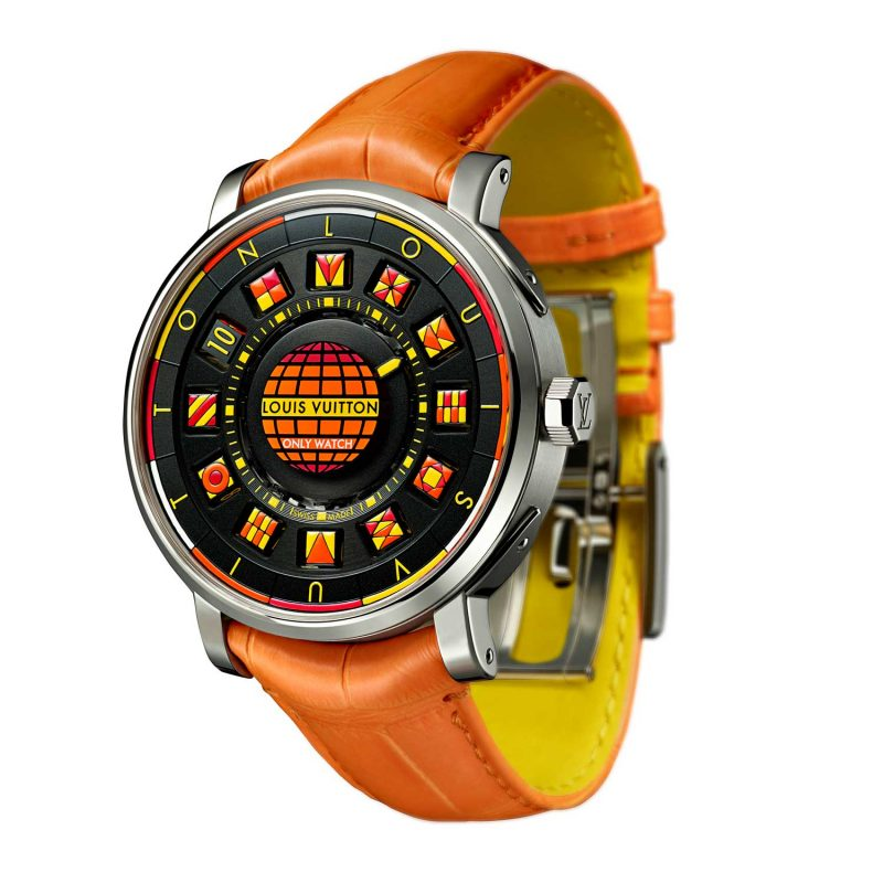 Louis Vuitton Escale Spin Time Black & Fire Only Watch 2017; estimate: US$52,000 - 83,000