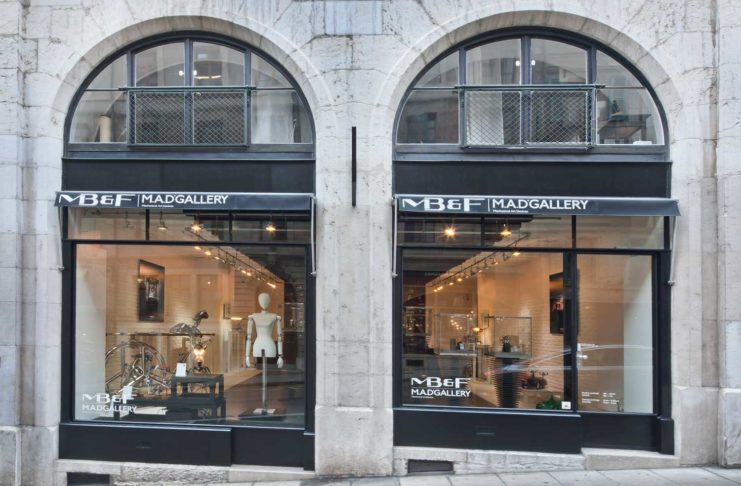 MB&F's M.A.D. Gallery in the Old Town of Geneva
