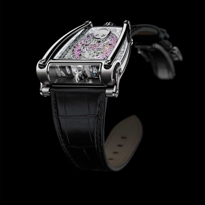 MB&F Horological Machine N°8 Only Watch 2017; estimate: US$83,000 - 103,000