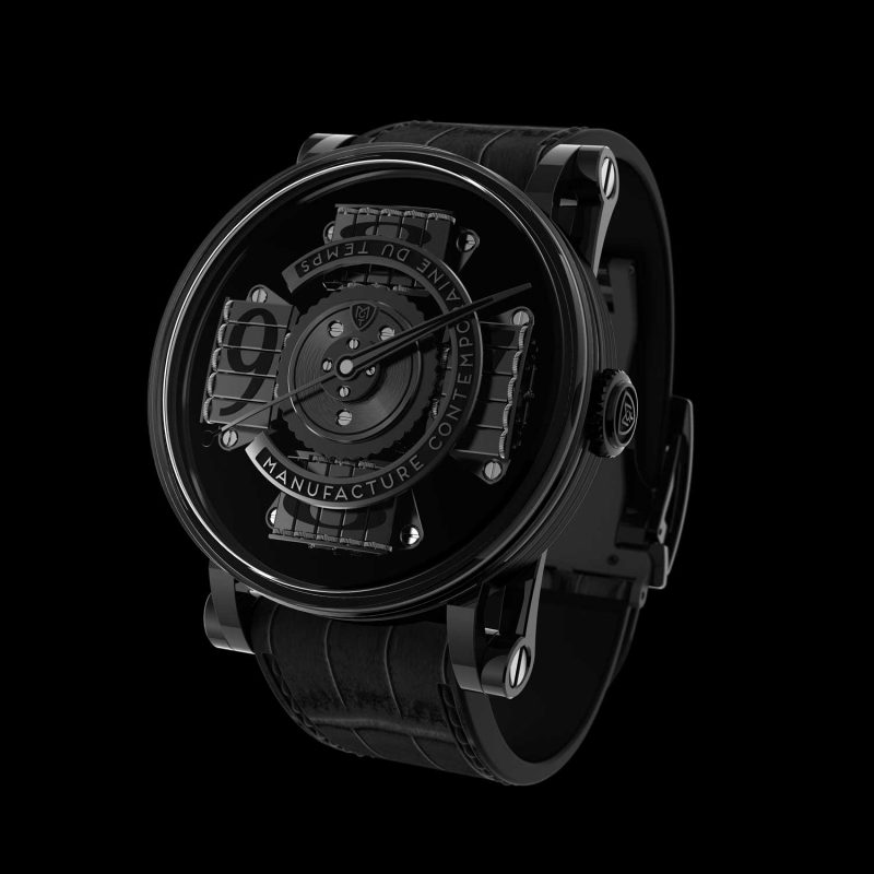 MCT S200 Vantablack Only Watch 2017; estimate: US$72,000 - 124,000