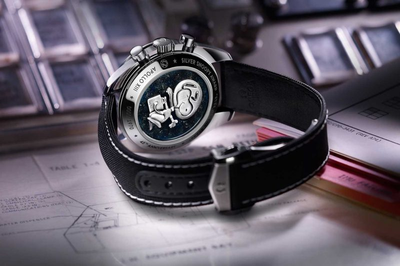 Silver Snoopy Tribute to Apollo 13 caseback