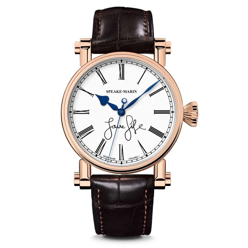 Speake Marin the Resilience Love Life Only Watch 2017; estimate: US$21,000 - 31,000