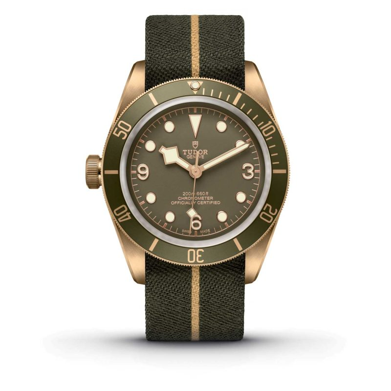 Tudor Black Bay Bronze One Only Watch 2017; estimate: US$4,600 - 5,700