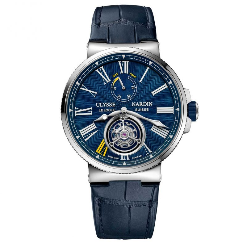 Ulysse Nardin Marine Tourbillon Only Watch 2017; estimate: US$22,000 - 33,000