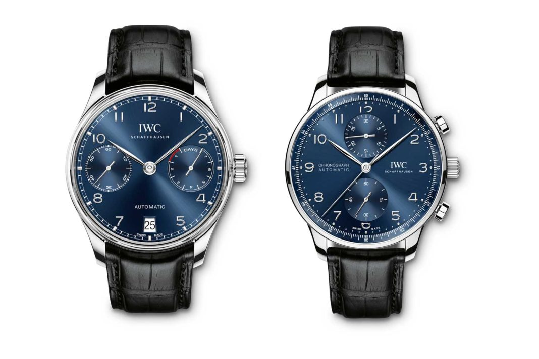 The Portugieser Automatic (IW500710) and the Portugieser Chronograph (IW371491)