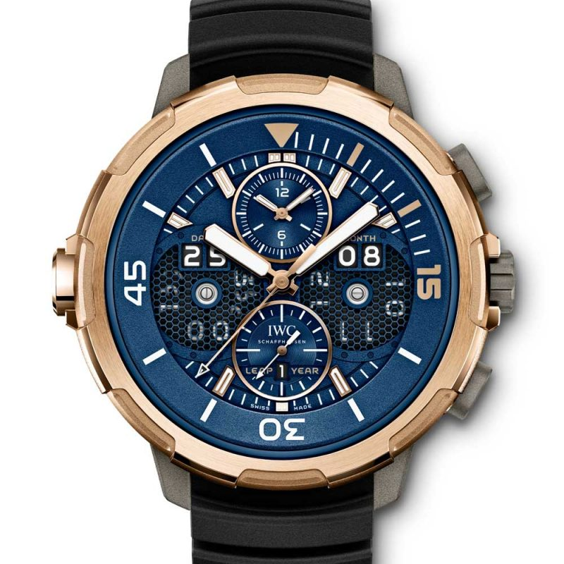 Aquatimer Perpetual Calendar Digital Date-Month - Red Gold