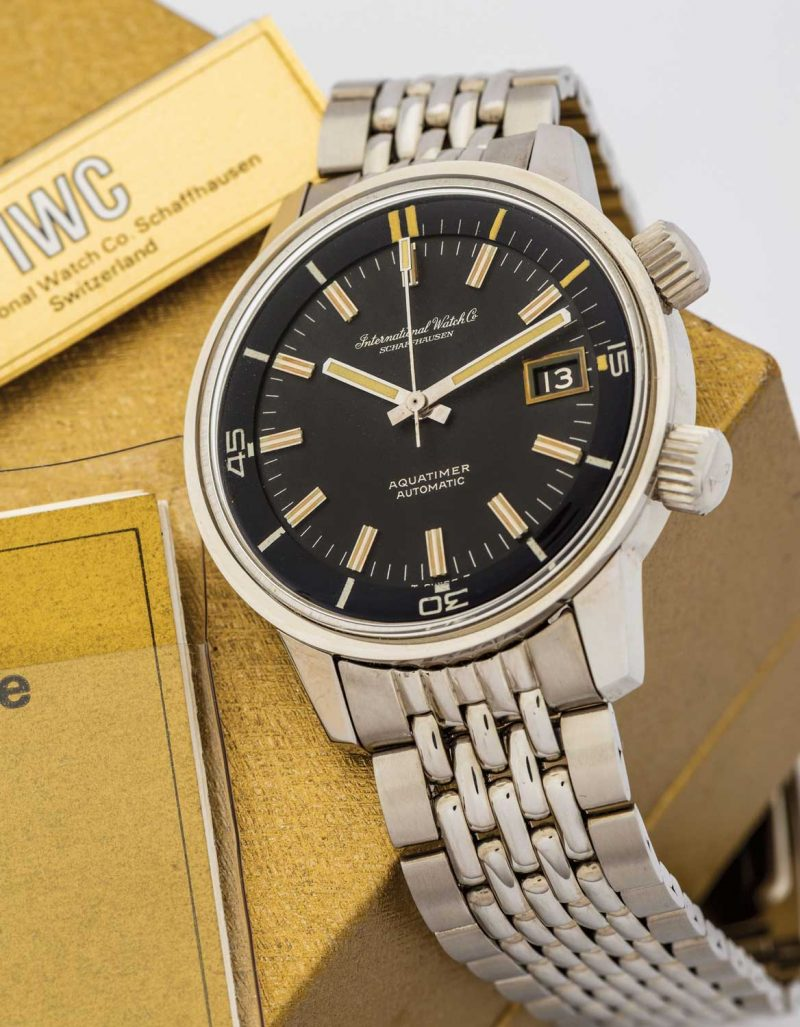 The original IWC Aquatimer, ref. 812 AD (Image: antiquorum.com)
