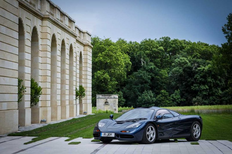 McLaren F1 25th Anniversary Tour in Bordeaux with Richard Mille