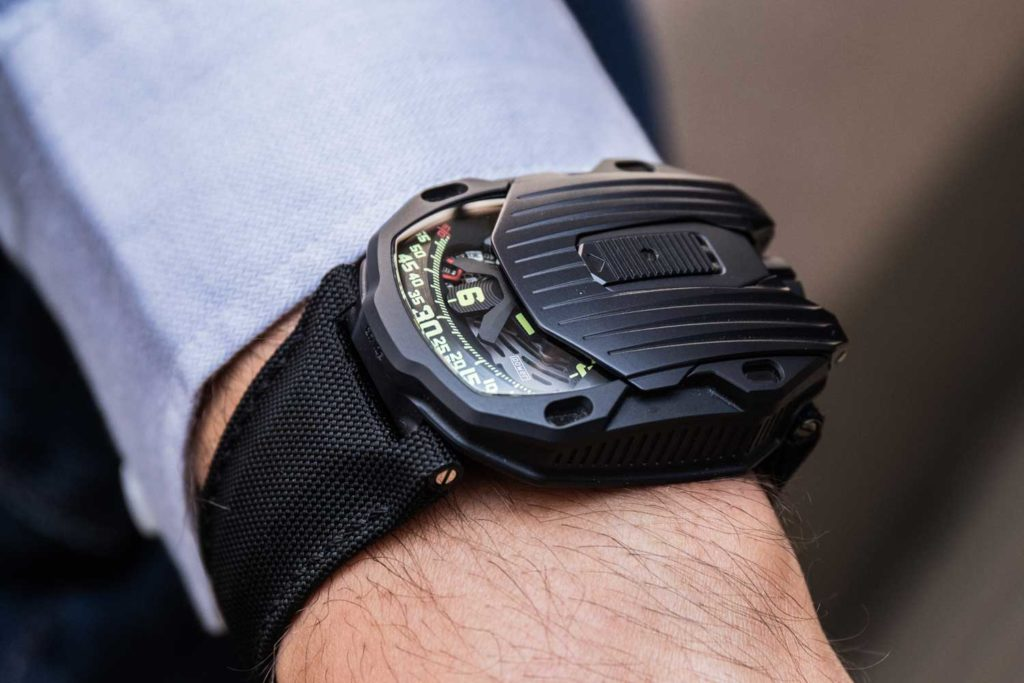 The Urwerk UR-105 CT Streamliner
