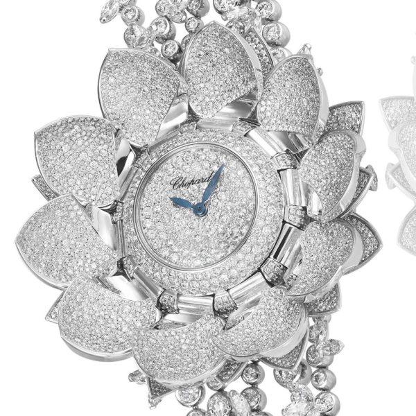 Chopard Lotus Blanc Watch
