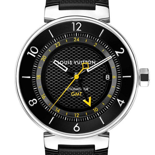 Louis Vuitton Tambour Moon GMT Black