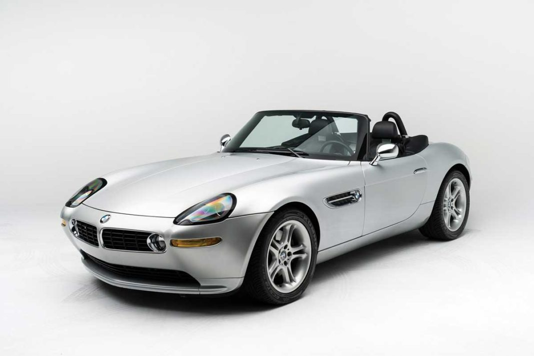 2000 BMW Z8 purchased new by visionary Apple founder Steve Jobs (Image: rmsothebys.com)