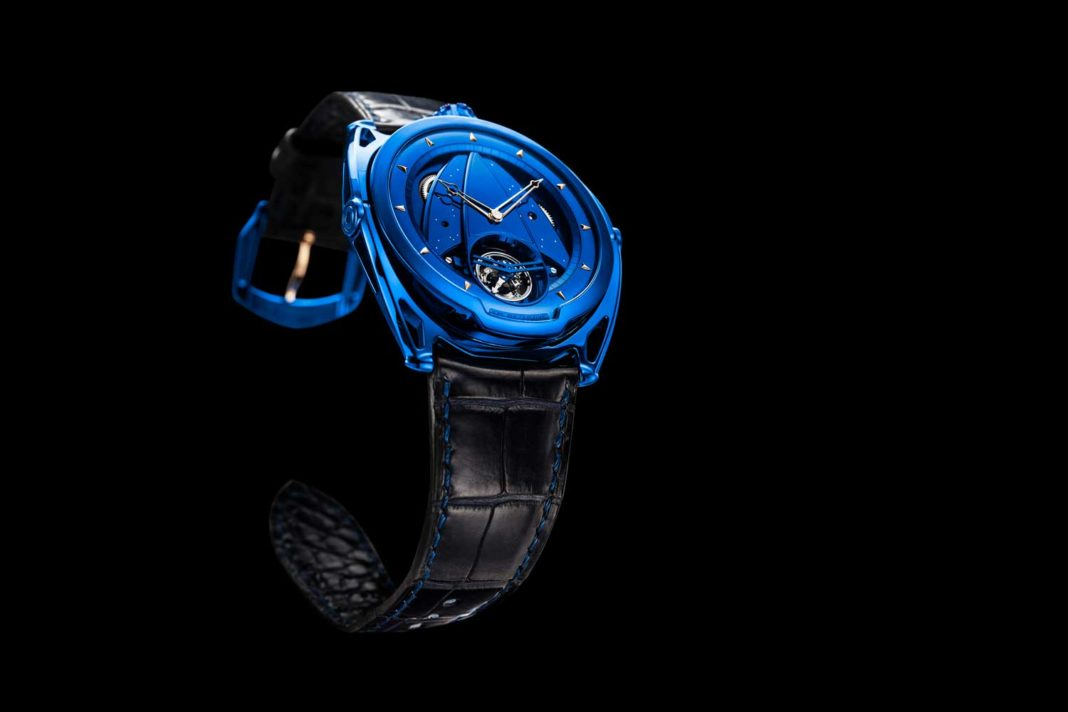 The De Bethune, DB28 Kind of Blue Tourbillon.