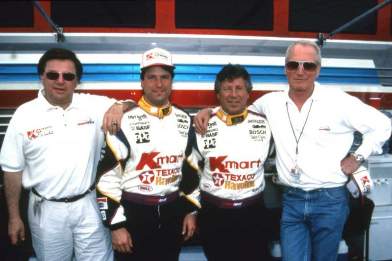 Haas, Michael and Mario Andretti and Newman