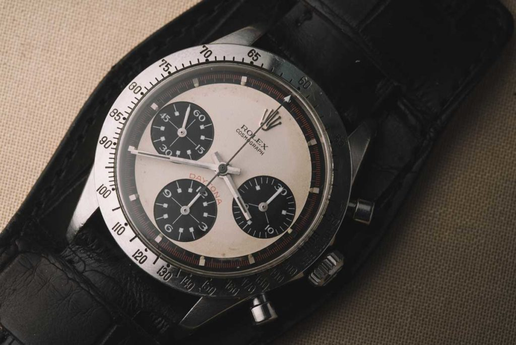 Paul Newman's 'Paul Newman Daytona' ref. 6239 (Image: phillipswatches.com)