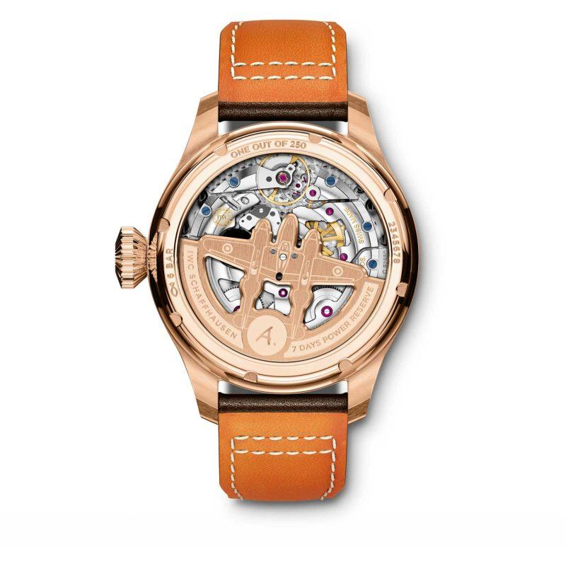 "Big Pilot's Watch Annual Calendar Edition ""Antoine de Saint Exupéry"", ref. IW502706 — caseback"